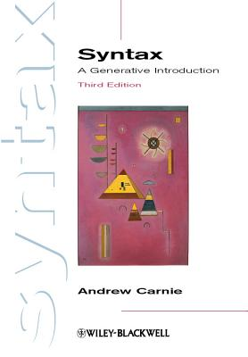 Syntax By Carnie, Andrew